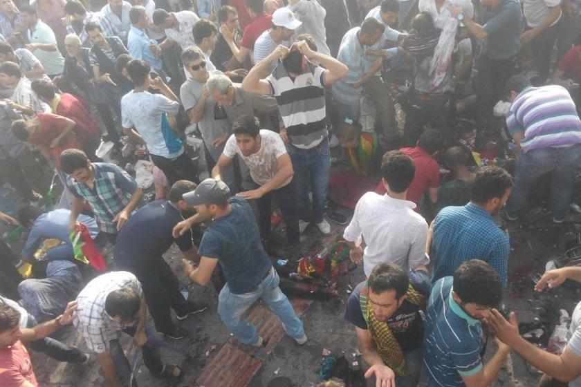 HDP mitingine bombalı saldırı davası yarın başlıyor