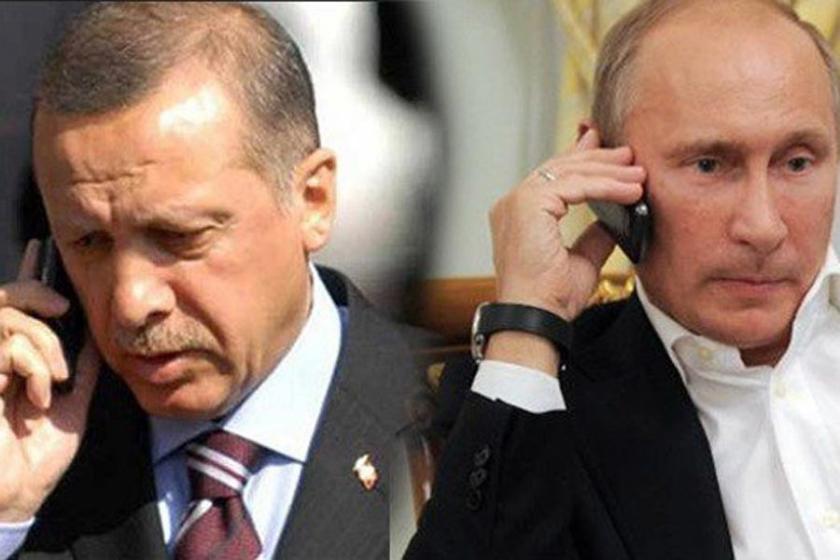Putin ile Erdoğan telefon görüşmesi yaptı