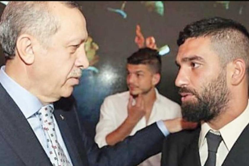 Arda Turan'dan Erdoğan'a: Benim başkomutanım sizsiniz
