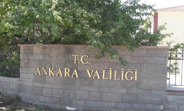 Ankara'da her türlü toplantı, gösteri ve miting yasaklandı
