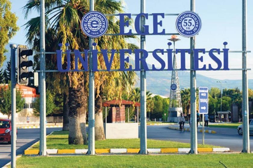 Ege Üniversitesine 'FETÖ' operasyonu