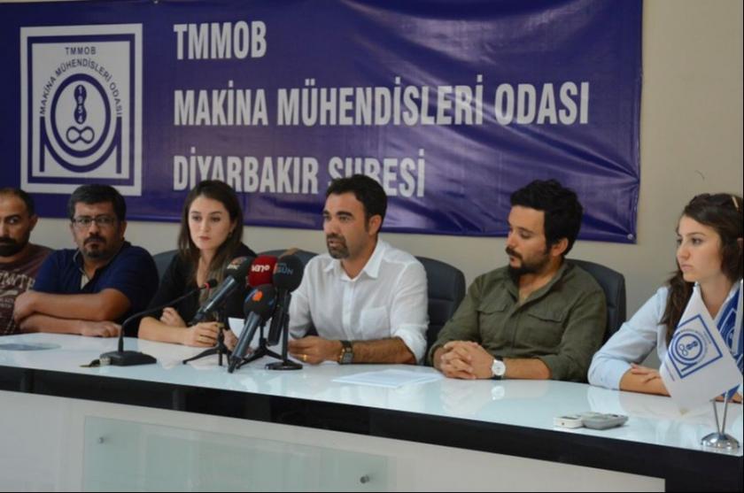 Mühendisler Nejdet Atalay'ın serbest bırakılmasını istedi