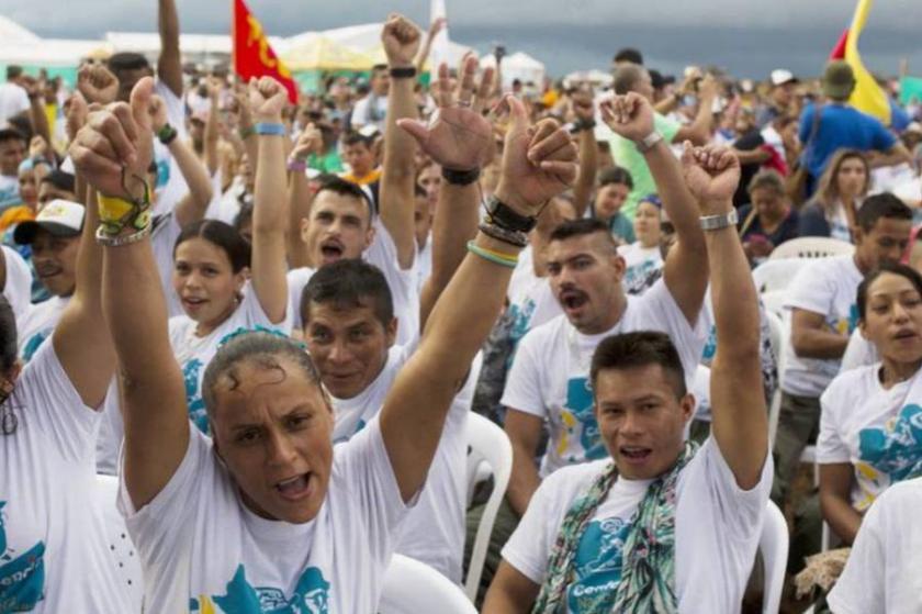 Kolombiya 'Barış Töreni'ne hazırlanıyor