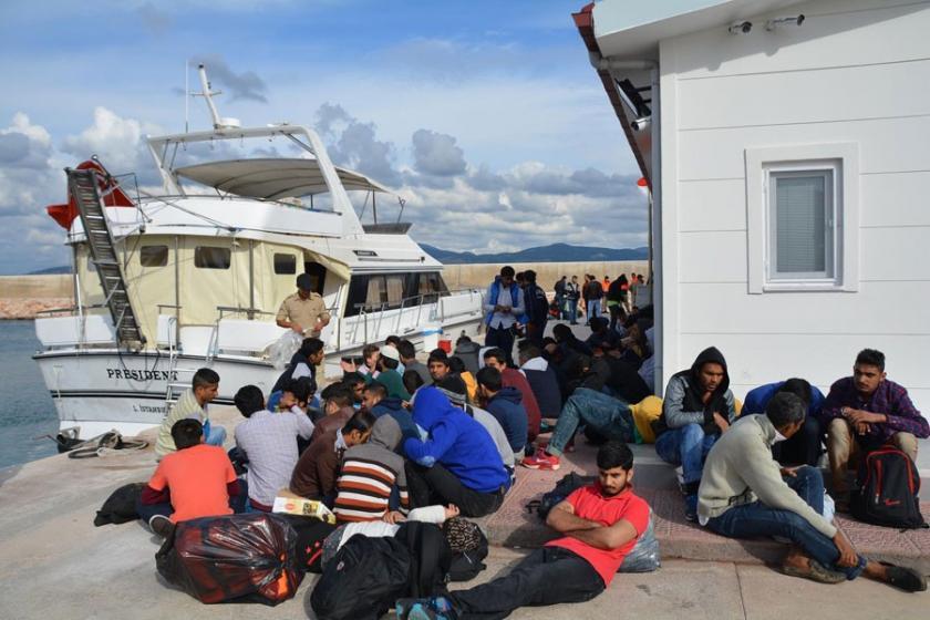 Çiller'in sattığı yatta 134 mülteci yakalandı