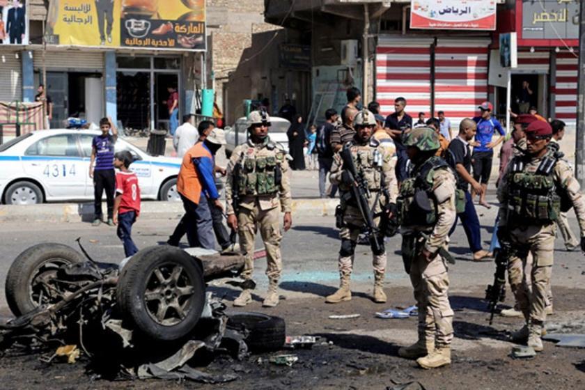 Bağdat'ta intihar saldırısı: 7 Ölü 17 Yaralı