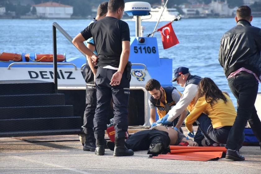 Köprüden atlayan kişi hayatını kaybetti