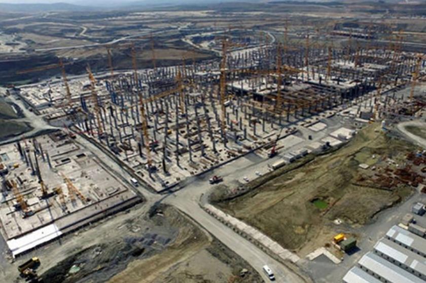 3. havalimanı inşaatında iş cinayeti