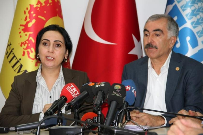 HDP'den Eğitim Sen'e destek ziyareti