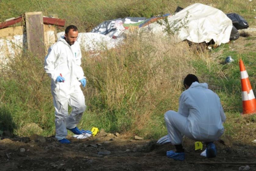 Silahların bulunduğu arazide kazı başlatıldı