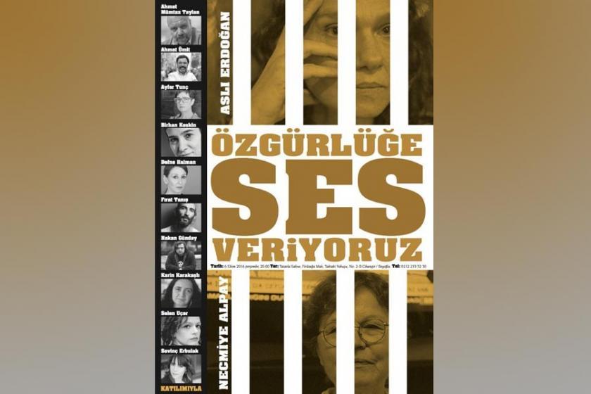 Sanatçılardan Erdoğan ve Alpay için okuma gecesi