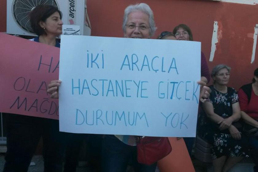 Çiğli halkı hastanesini geri istiyor