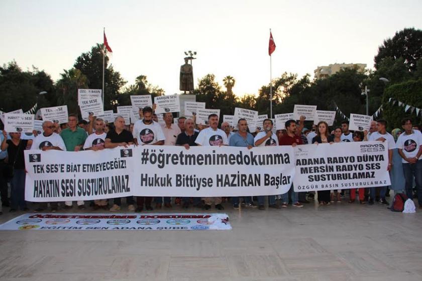 Adana'da emekçiler 'Tek sese biat etmeyeceğiz' dedi