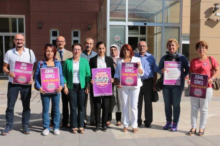 Manisa'da Zuhal Güneş'in taciz davası 17 Ocak'a ertelendi