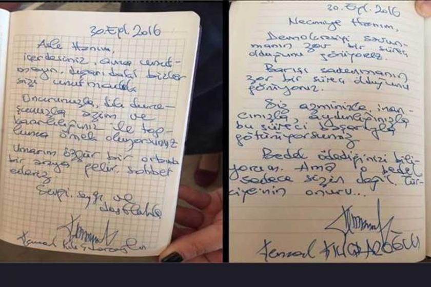 Kılıçdaroğlu'dan Erdoğan ve Alpay'a mektup