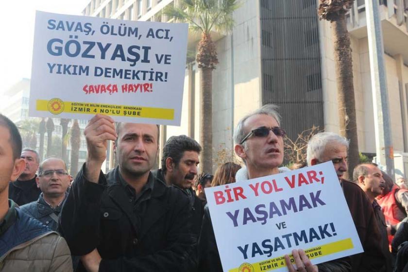 'Üyelerimize ceza verenler FETÖ'den gözaltında'