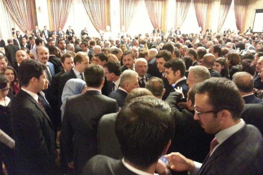 Meclisin açılış resepsiyonunda 'güvenlik' paranoyası