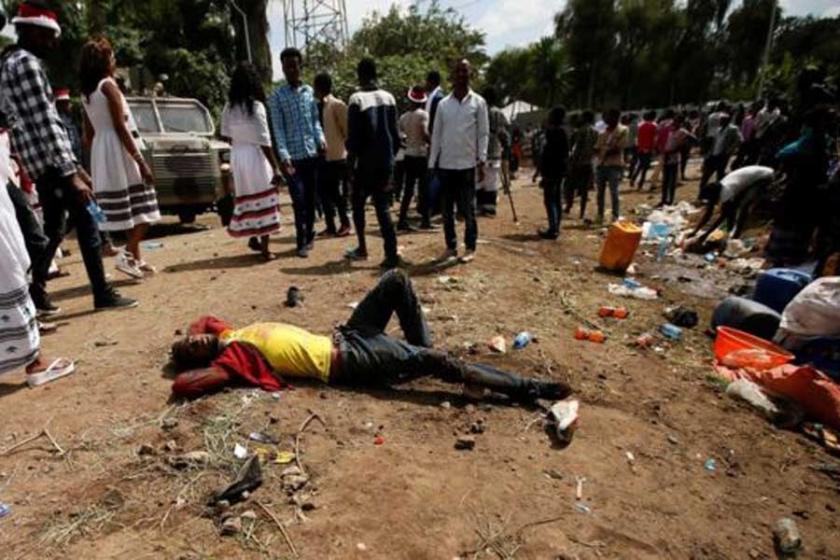 Etiyopya'da halka ateş açıldı: Çok sayıda ölü var