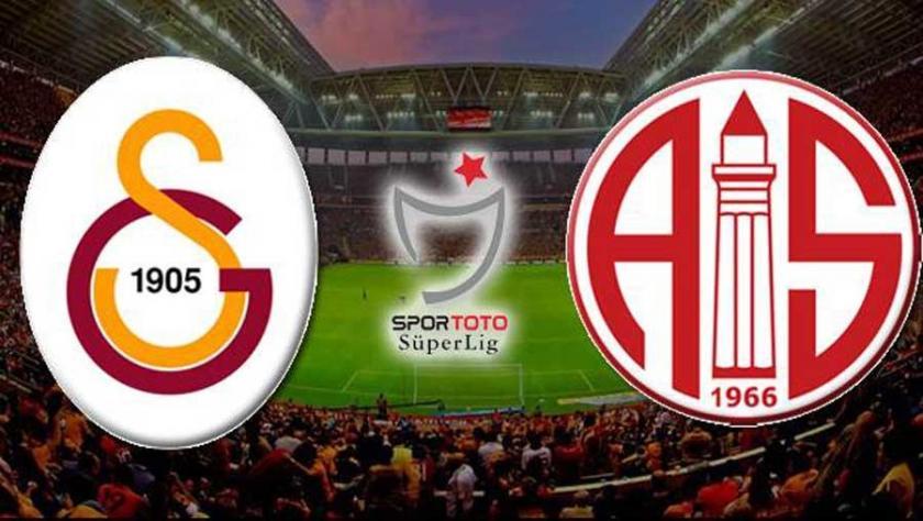 Galatasaray kendi evinde Antalyaspor'u 3-1 yendi