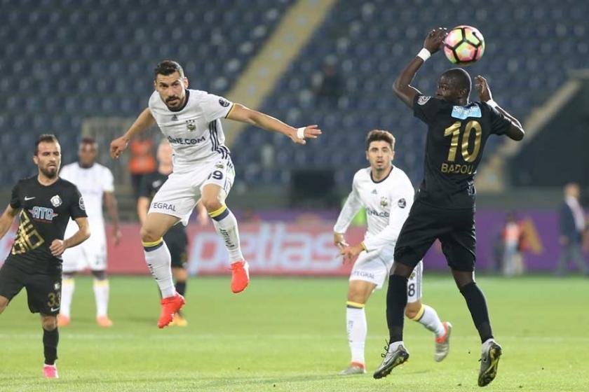 Fenerbahçe Osmanlıspor ile deplasmanda 1-1 berabere kaldı