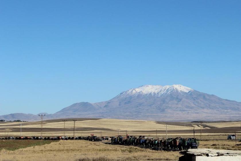 Malazgirt'te 10 kilometrelik pancar kuyruğu