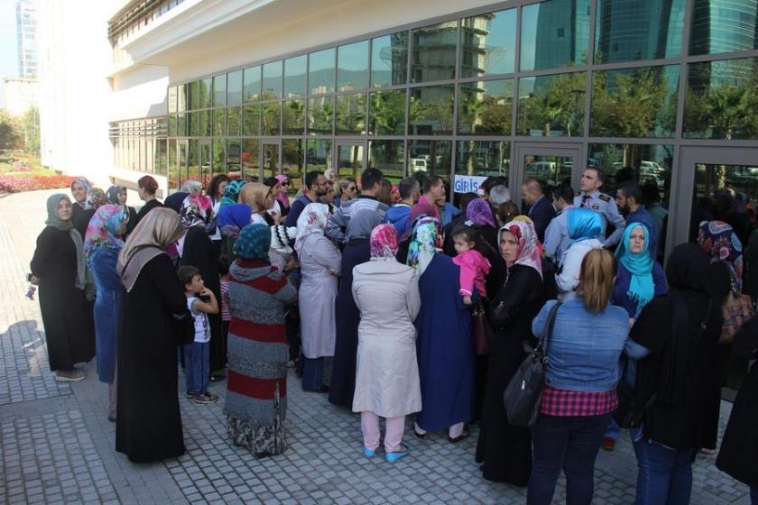 Bursa'da velilerden servis eylemi