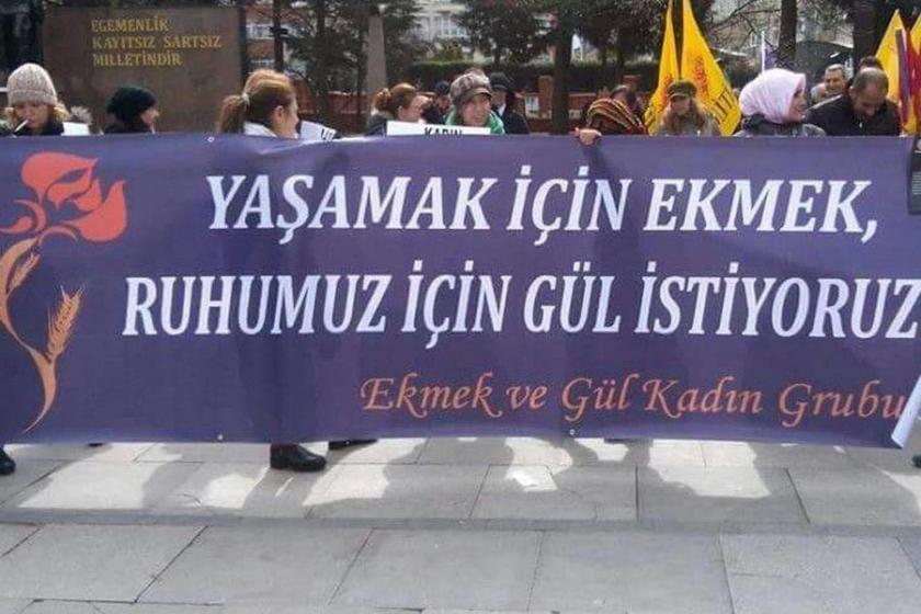 Kadın örgütlerinden Ekmek ve Gül için imza kampanyası