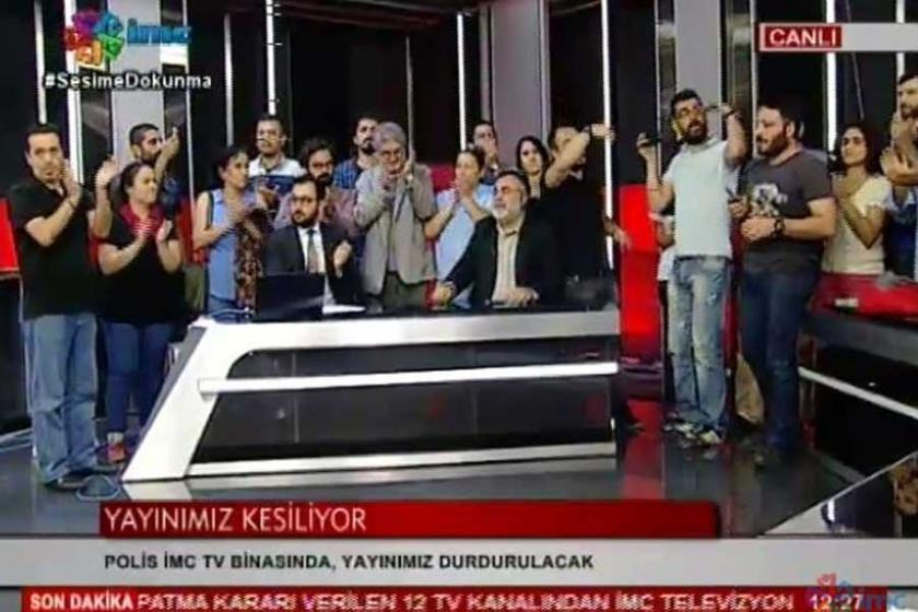 İMC TV de mühürlendi