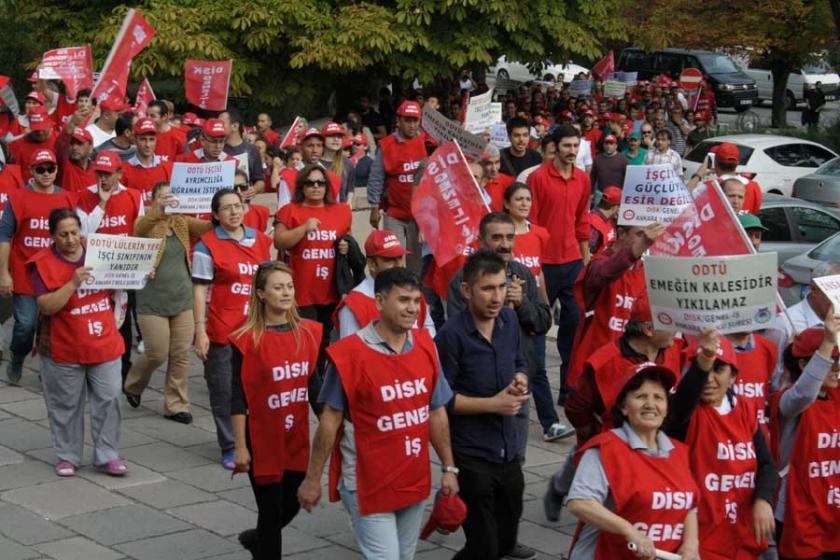 ODTÜ'de ihale öncesi taşeron işçilerden uyarı