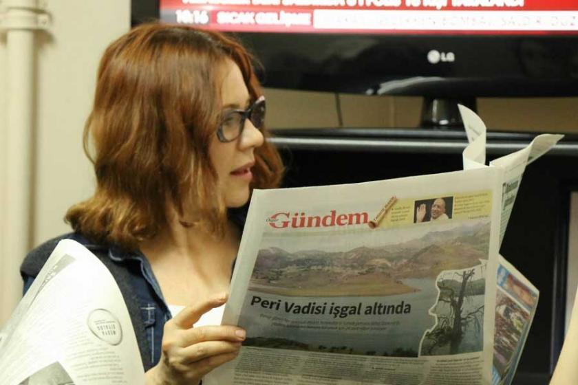 Özgür Gündem'e destek veren Jülide Kural'a dava