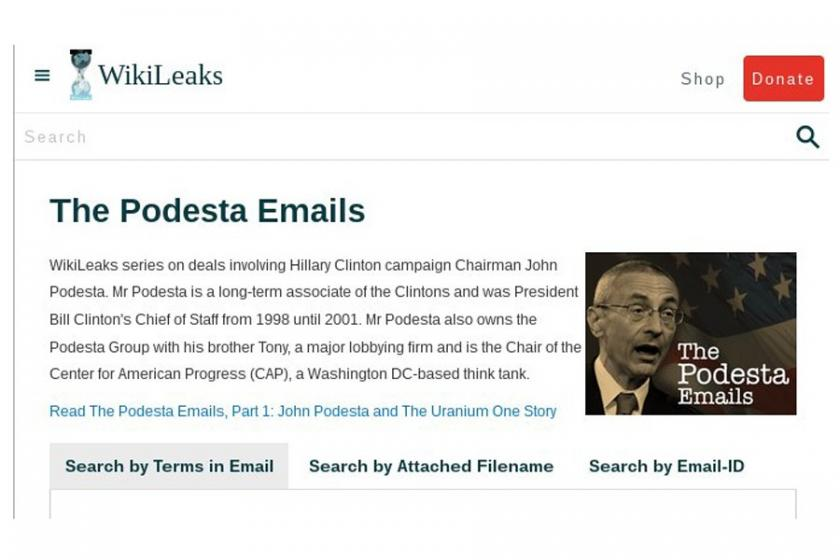 Wikileaks, Clinton dosyalarını yayımladı