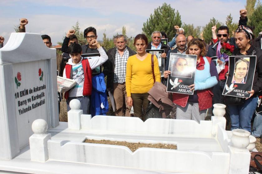 Emine Ercan mezarı başında anıldı