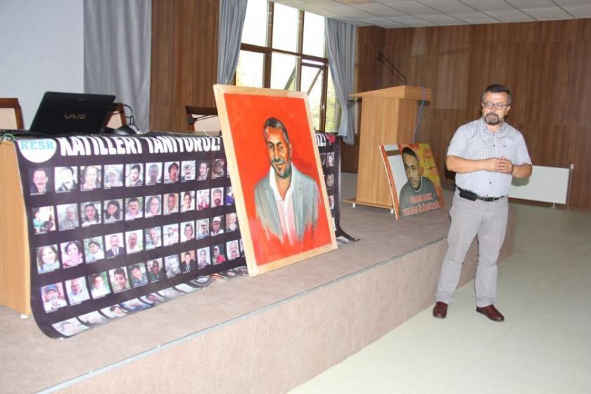 Ercan Adsız'ın adı belediye konferans salonuna verildi