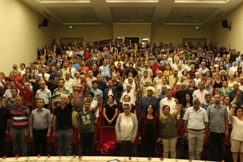 10 Ekim'de yitirilenler Antalya'da anıldı
