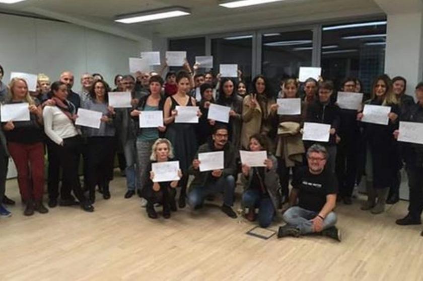 Viyana'da toplu Aslı Erdoğan okuma etkinliği