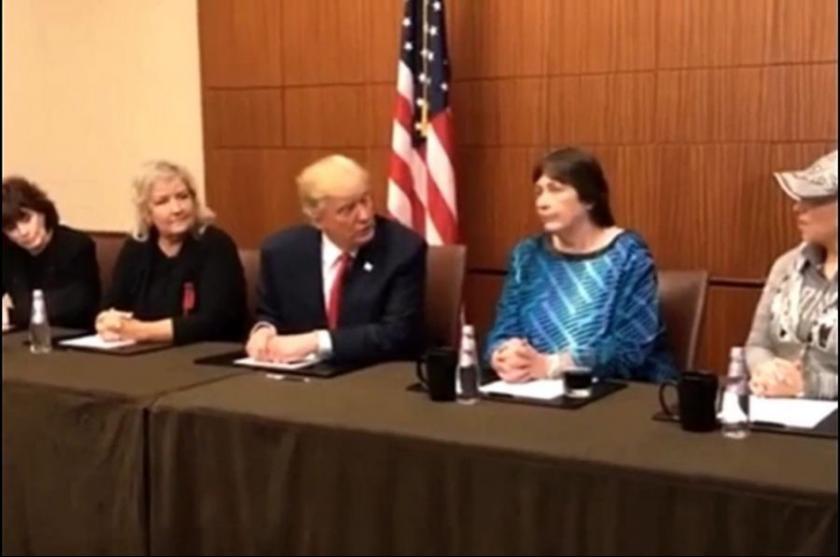 Trump, Bill Clinton'a taciz suçlamalarını gündeme getirdi