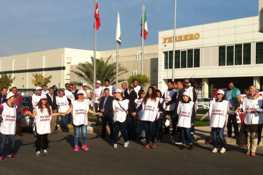 Ferrero'da grev başladı