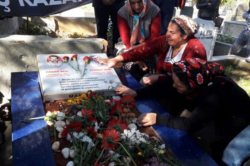 10 Ekim'de yitirilen Serdar Ben ve Fatma Esen anıldı