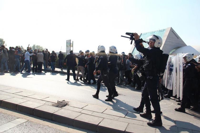 Ankara'da gözaltına alınanların ifadeleri alınıyor