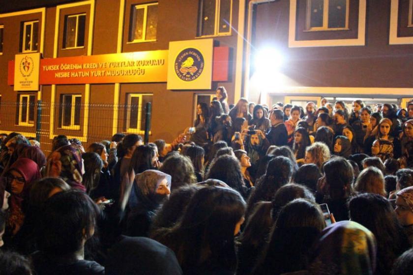 Nesibe Hatun Kız Öğrenci Yurdu'nda 4 günde 2 kişi kaçırıldı