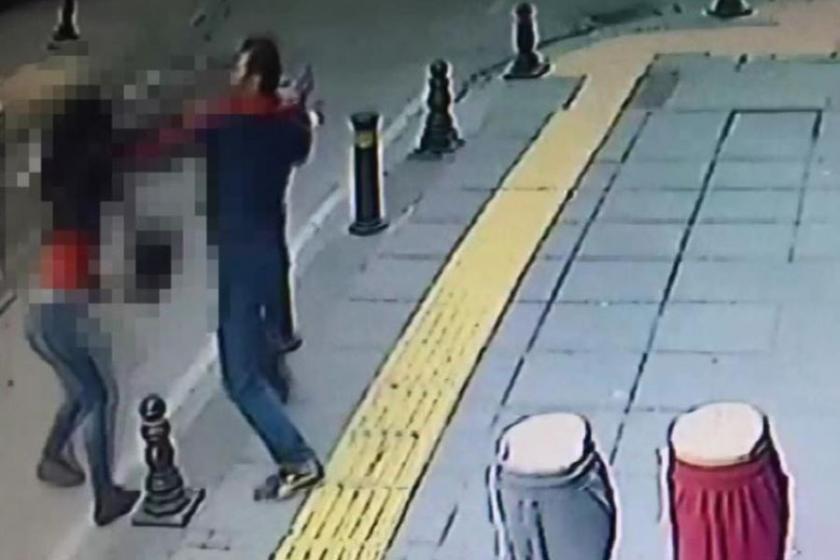Pendik'te sokak ortasında kadın cinayeti