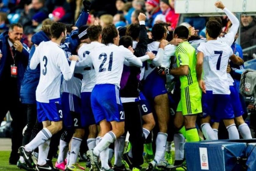 San Marino'dan tarihi gol