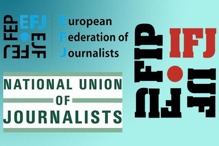 IFJ, NUJ ve EJF: Kapatılan yayın organları geri açılsın