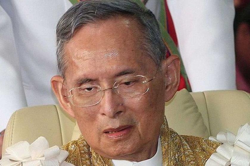 Tayland kralı yaşamını yitirdi