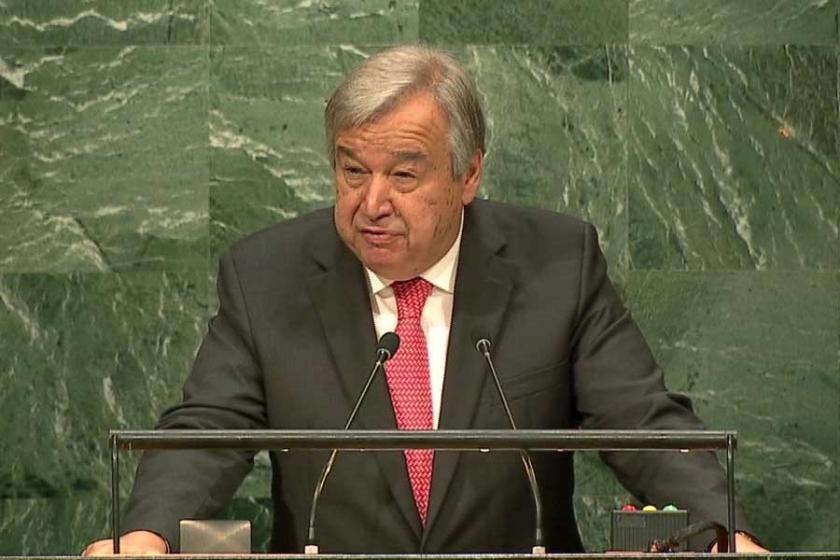 Antonio Guterres Birleşmiş Milletler Genel Sekreteri seçildi
