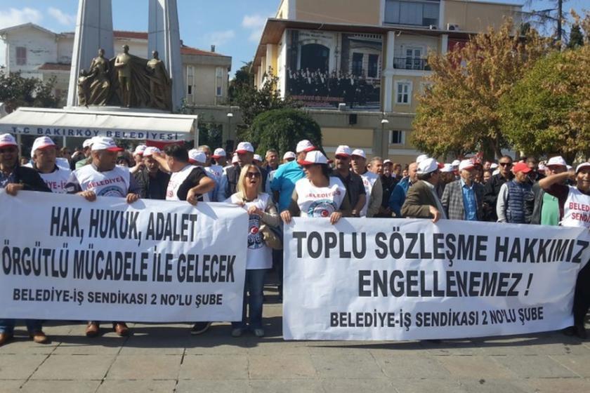 Belediye-İş, Bakırköy'de grev kararı aldı