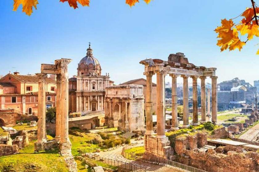 Sanata doymak için: Roma