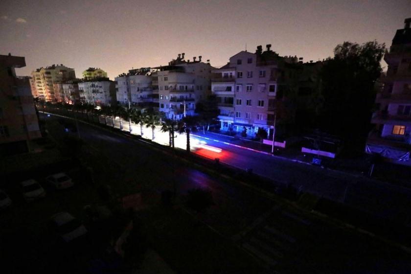 Türkiye'de en çok karanlıkta kalan iller