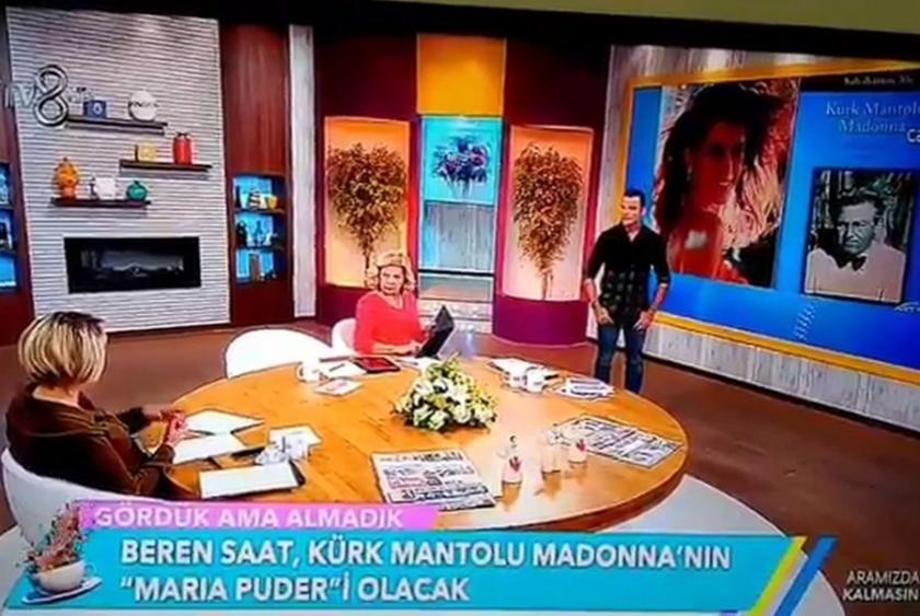 Televizyonda Kürk Mantolu Madonna cehaleti