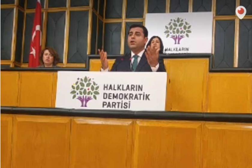 Demirtaş'tan Erdoğan'a: Sen önce Antep'i IŞİD'den temizle