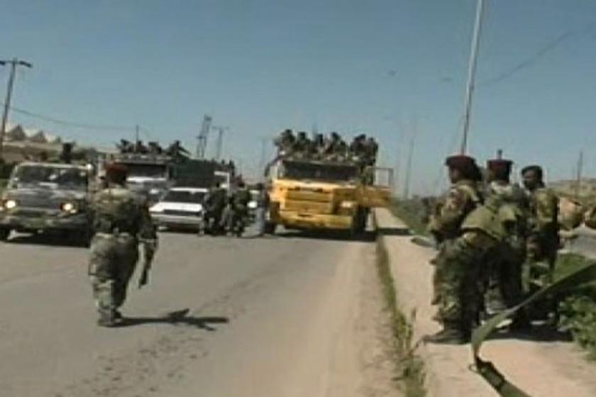 Irak Ordusu Hamdaniye Kasabası'nda kontrolü sağladı